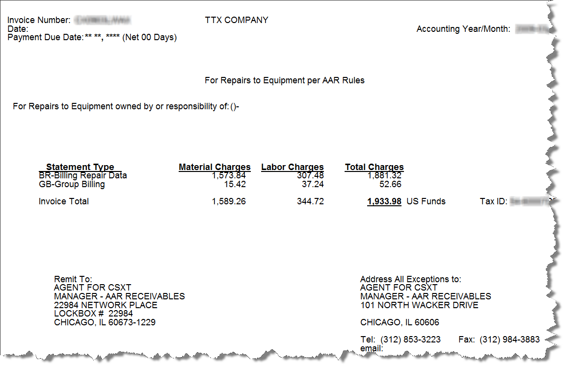 invoice-only-report