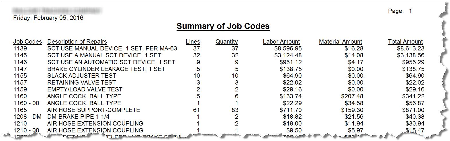 job-codes-report